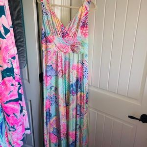 Lilly Pulitzer sloane maxi dress xl